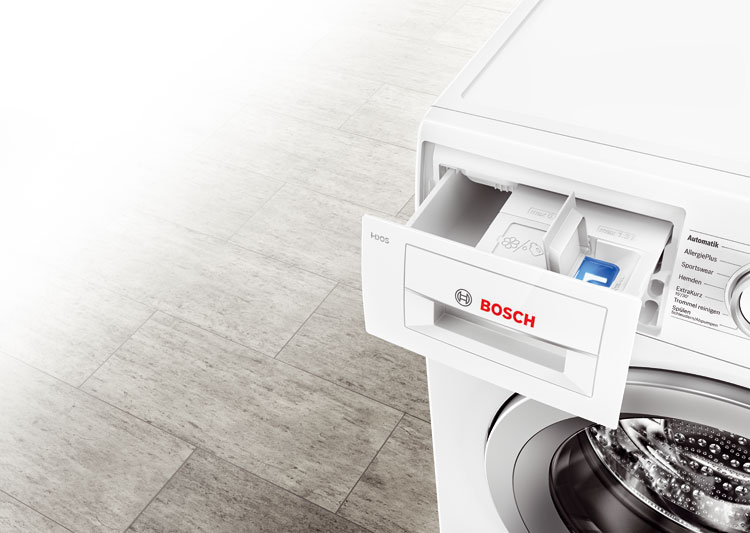 Funcionamiento de la tecnología i-DOS en las lavadoras Bosch