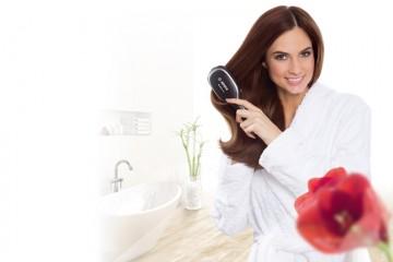 Motivos por los que peinar el pelo con un cepillo iónico
