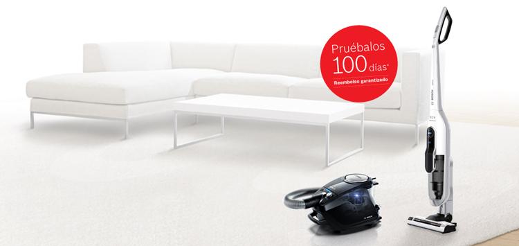Promoción prueba aspiradores 100 días