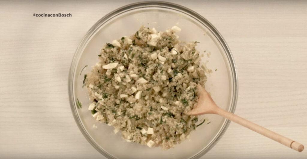 La quinoa es un cereal con muchos nutrientes.