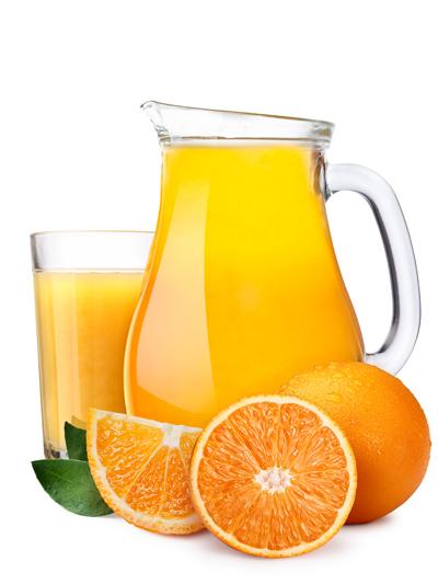 Los mitos del zumo de naranja