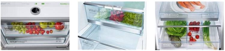 Cajones VitaFresh frigoríficos Bosch