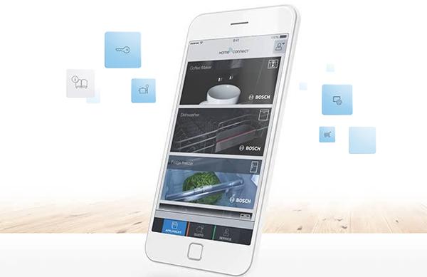 Controlar los electrodomésticos desde el dispositivo móvil