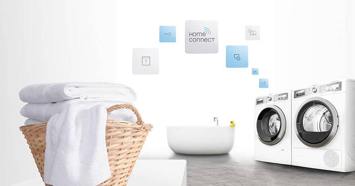 Lavadoras y secadoras conectadas de Bosch