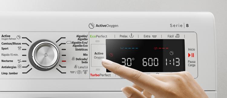 Lavar en agua fría con las lavadoras Bosch con ActiveOxygen
