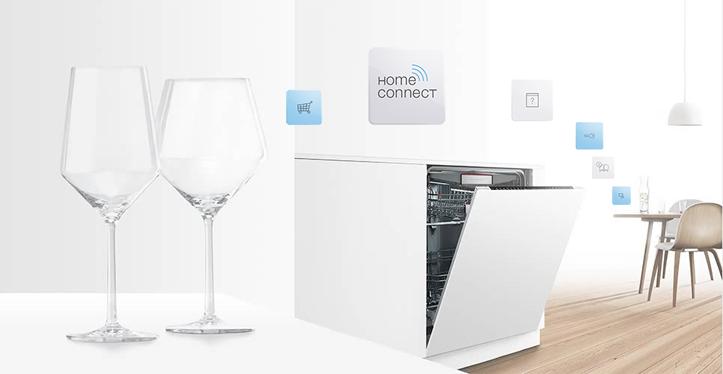 Utilizar lavavajillas Home Connect