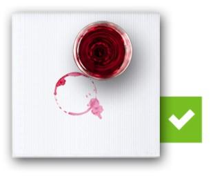 Truco para quitar mancha de vino tinto
