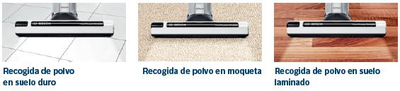 Los aspiradores Bosch aspiran el polvo sobre cualquier superficie