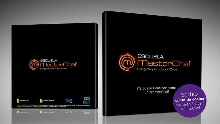 Sorteo de 10 cursos de cocina online en la Escuela de MasterChef
