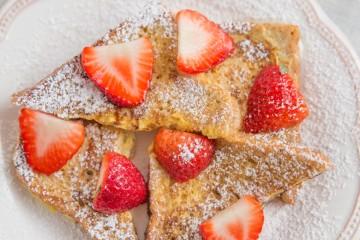 Receta de tostadas francesas para desayunar