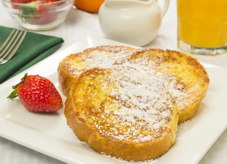 Receta de desayuno original
