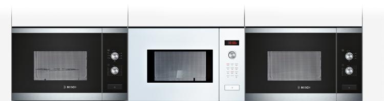 Tipos de microondas Bosch