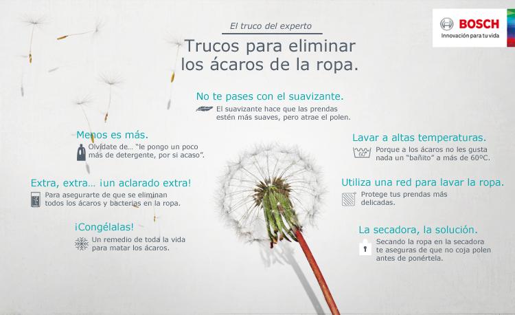 Guía de lavado para personas alérgicas