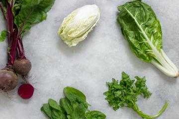 Las 5 verduras y hortalizas con más nutrientes.