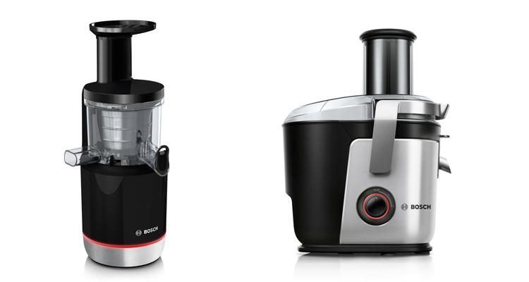 Extractor de jugos lento y licuadora, de Bosch
