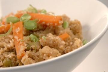 Receta de arroz de coliflor