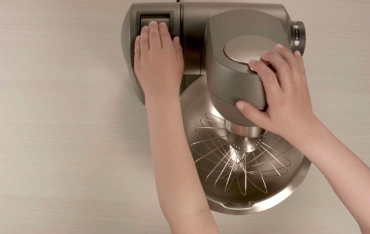Amasar con robot de cocina