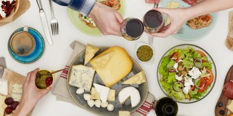 5 trucos cena con amigos