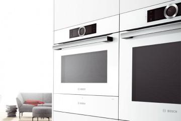 Ideas de cocinas con electrodomésticos blancos