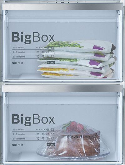 Frigoríficos de 1 puerta con cajón Big Box