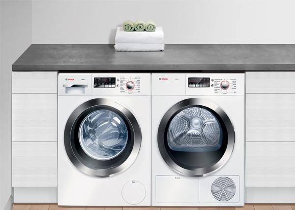 Combinación de lavadora y secadora
