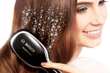 Cepillo con iones Brilliant Care para el pelo encrespado