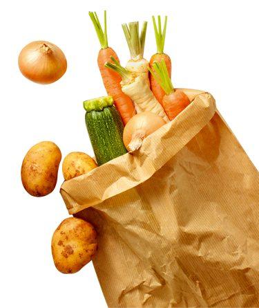 Cantidad recomendada de fruta y verdura para comer cada día