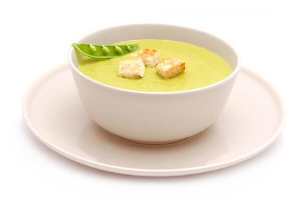Cremas de verduras: crema de calabacín y aguacate