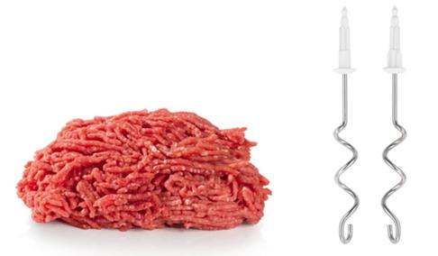 Garfio amasador especial carne picada