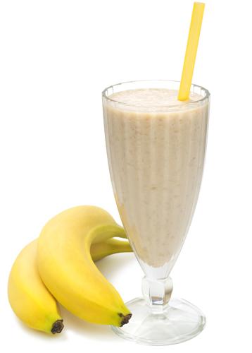 Batido energético de plátano