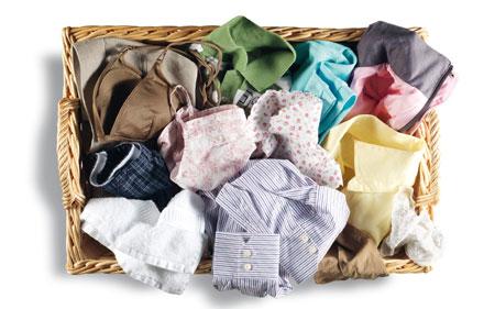 Planchar en el cuarto de lavado
