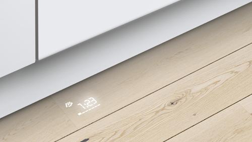 Función TimeLight en lavavajillas panelables Bosch