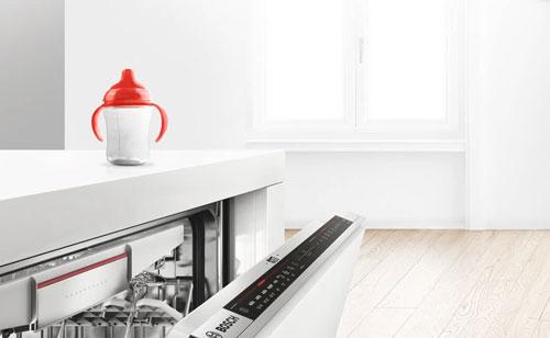 Lavavajillas con tecnología de secado con zeolitas de Bosch