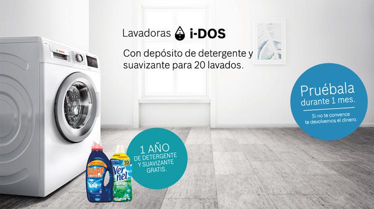Promoción lavadoras i-DOS de Bosch