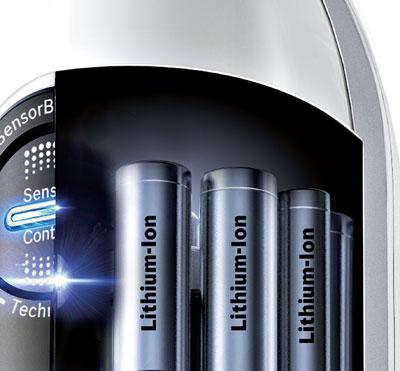 Baterias de litio en los aspiradores escoba de Bosch