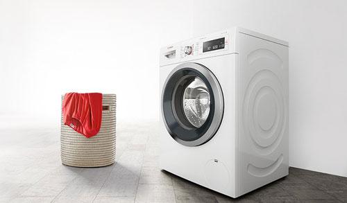 Poner lavadora Bosch