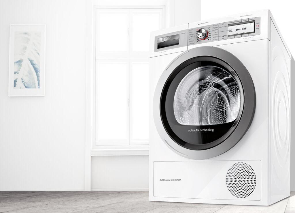 Primera puesta en marcha de una secadora nueva.