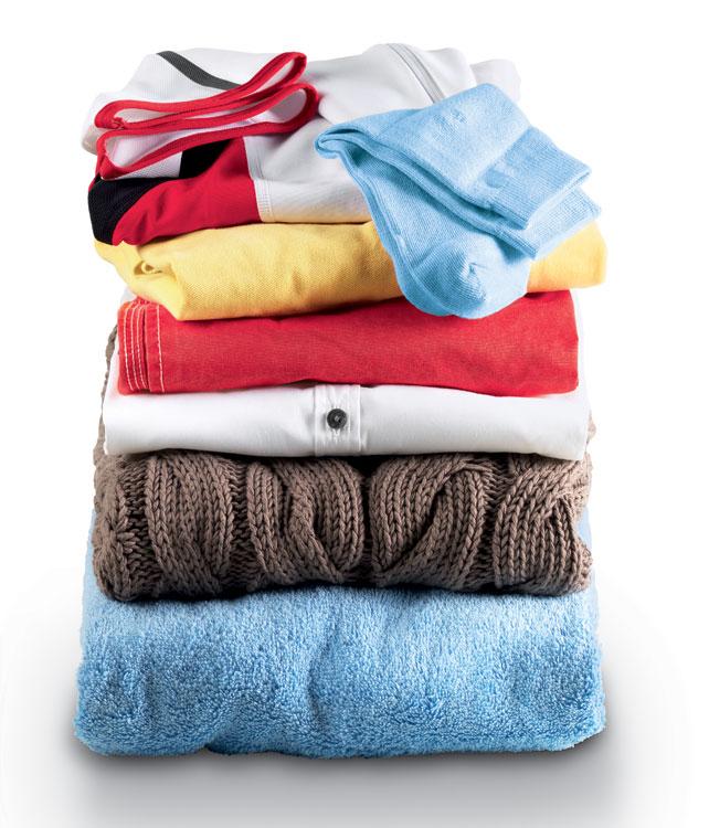 Trucos para secar la ropa en la secadora.
