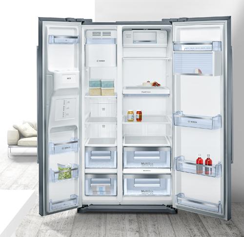 Cómo es el interior de un frigorífico americano