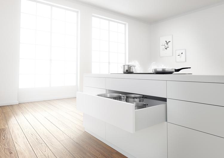 Electrodomésticos para cocinas con isla central