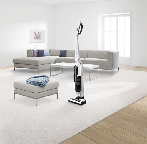 Con el aspirador Athlet se pueden aspirar alfombras