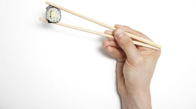 Comida cruda japonesa