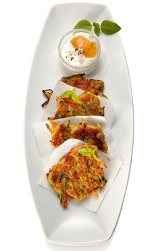 Recetas de snacks veggies