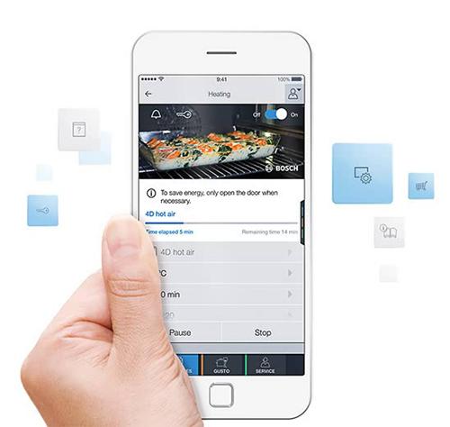 Con la app Home Connect podrás hacer una receta distinta cada día