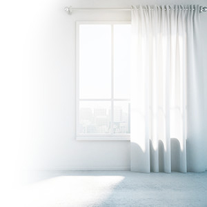 Trucos para unas cortinas limpias