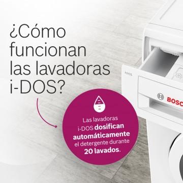 Cómo funcionan las lavadoras i-DOS