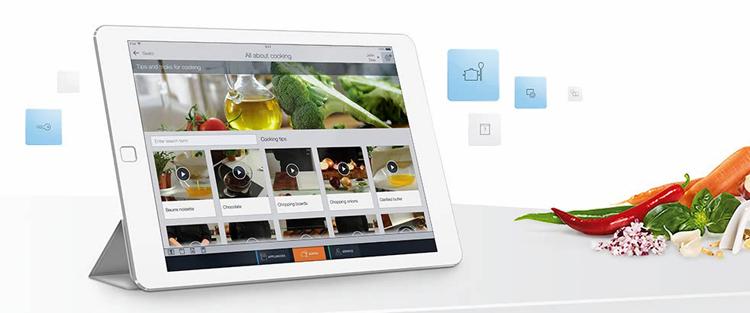 Recetas de cocina en la app Home Connect