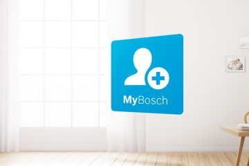 Registro en MyBosch