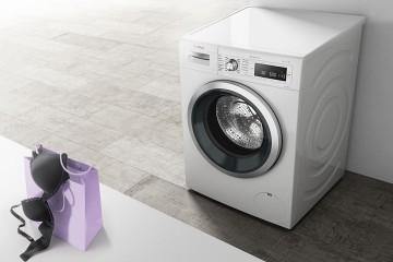 Lavadora Bosch y ropa interior