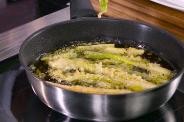 Receta de verduras en tempura